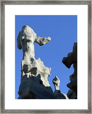 Flying Beagle Ears Framed Print by Jeff Brunton