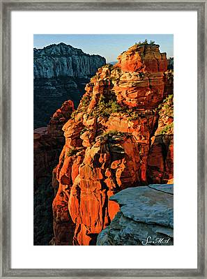Flying Buttress 06-034 Framed Print