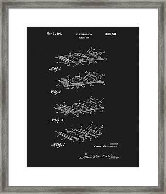 Flying Car Patent Framed Print
