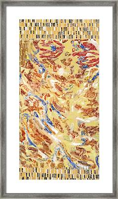 Flying Carpet Framed Print by Joan De Bot