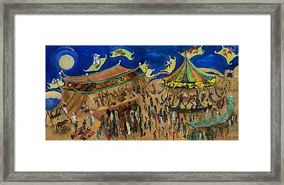 Flying Carpets Framed Print by Ione Citrin