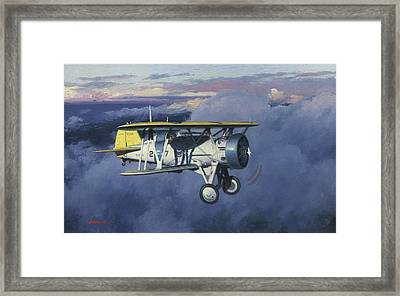 Flying Chief Framed Print