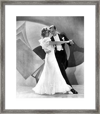 Flying Down To Rio, Ginger Rogers, Fred Framed Print by Everett