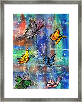 Flying Free Framed Print by Cynda LuClaire