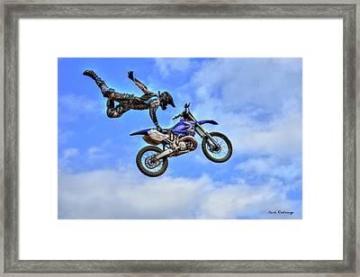 Flying High 5 Framed Print by Reid Callaway