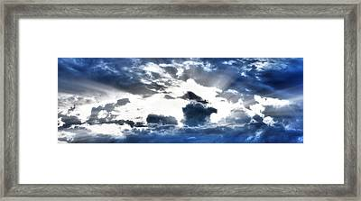 Framed Print featuring the photograph Flying High by Anthony Rego