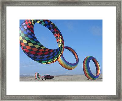 Flying High Framed Print by Barb Morton