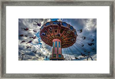 Flying High Framed Print