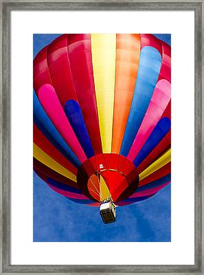 Flying High Colors Framed Print by Teri Virbickis