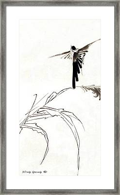 Flying High Framed Print by Ming Yeung