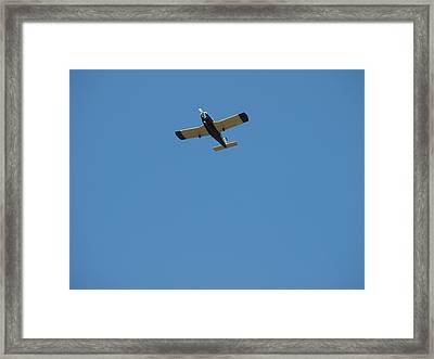 Flying Hight Framed Print by Robert Margetts