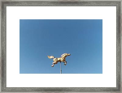 Flying Horse Chattanooga Framed Print by Jake Hartz