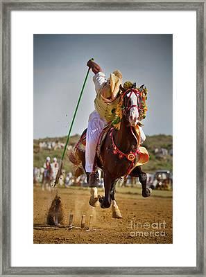 Flying Horse II Framed Print