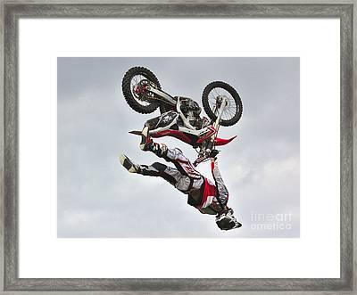 Flying Inverted Framed Print