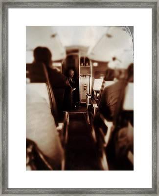 Flying Framed Print by Judith Kitzes