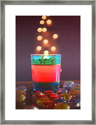 Framed Print featuring the photograph Flying Light by Rima Biswas