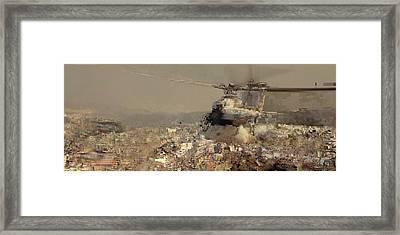 Flying Machine Framed Print