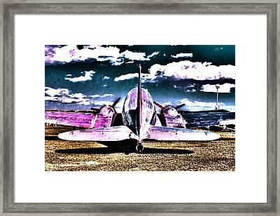 Flying Mirror Framed Print by Scott Perkins