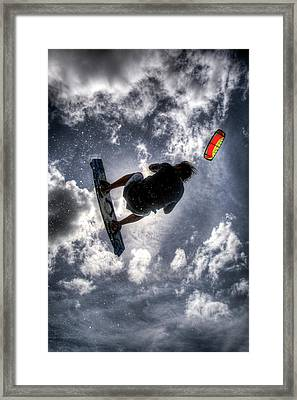 Flying  Framed Print by Nick  Shirghio