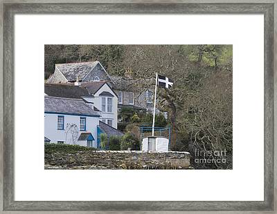 Flying The Flag For Cornwall Framed Print by Terri Waters