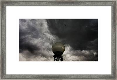 Flying The Friendly Skies Framed Print