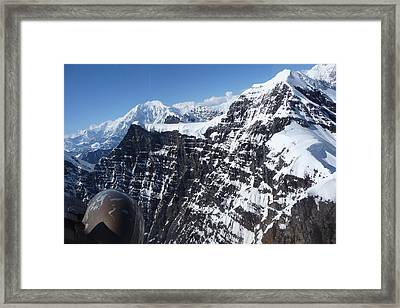 Flying Thru The Great Gorge Framed Print by Joel Deutsch
