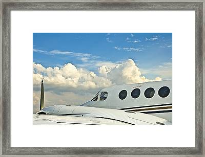 Flying Time Framed Print by Carolyn Marshall