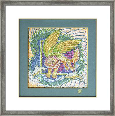 Flying With Dolphins Framed Print by Ruth Hooper