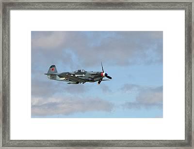 Flying Yak Framed Print