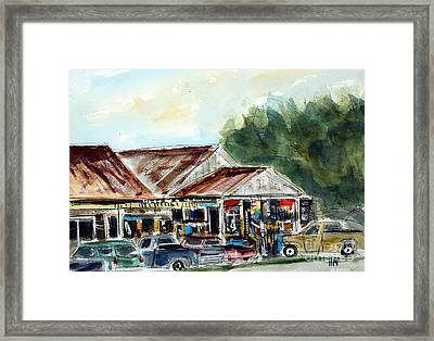 Fly's Place Framed Print by Tim Ross