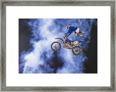 Fmx Motocross Framed Print
