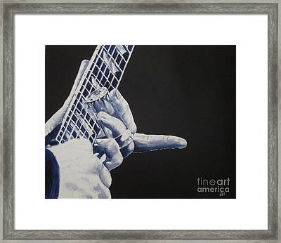 Fn Blues Framed Print