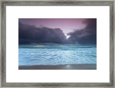 Foam Blanket. Framed Print