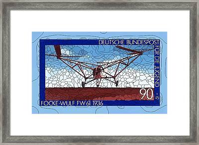 Focke-wulf Fw61 Framed Print