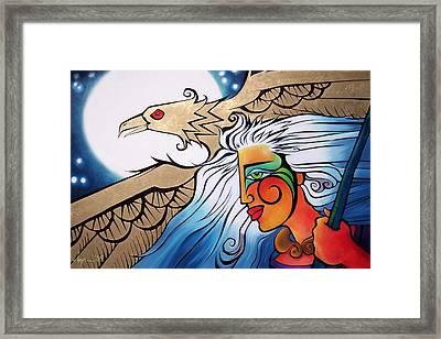 Focus Framed Print by Angela Treat Lyon