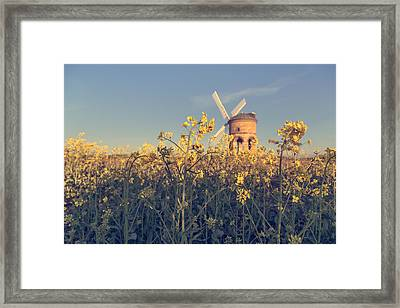 Focus On What Is Right In Front Of You Framed Print by Chris Fletcher