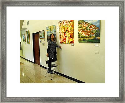 Focus One No. 2 Framed Print by Min Wang