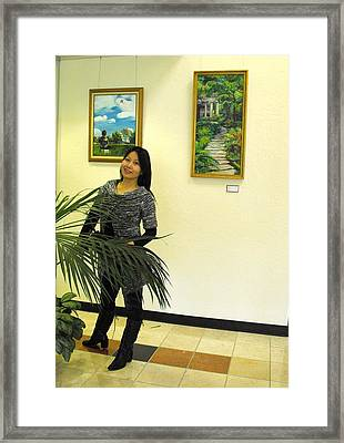 Focus One No 4 Framed Print by Min Wang