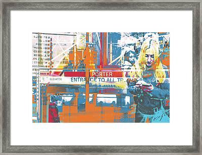 Focus Framed Print by Shay Culligan