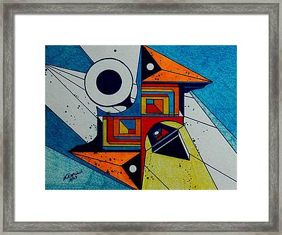 Focus Framed Print by Willie McNeal