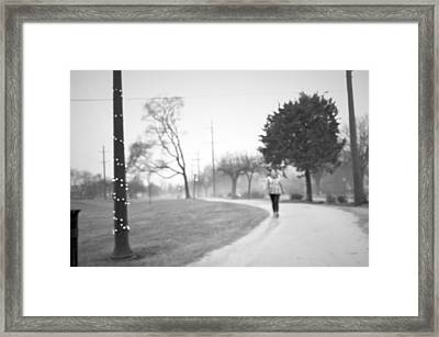 Focused Framed Print