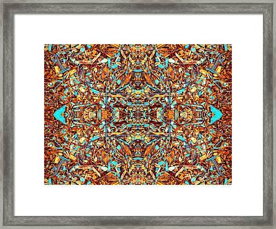 Focused Presence Framed Print