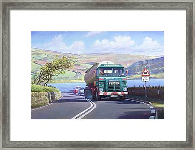 Foden In The Lake District Framed Print