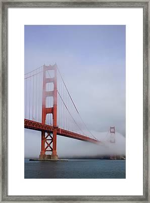 Fog Blanket Framed Print
