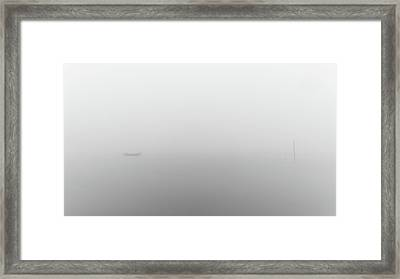 Framed Print featuring the photograph Fog Day by Bruno Rosa