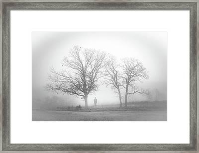 Fog Framed Print by EG Kight