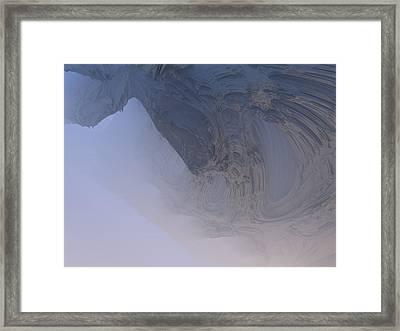 Fog In The Cave Framed Print