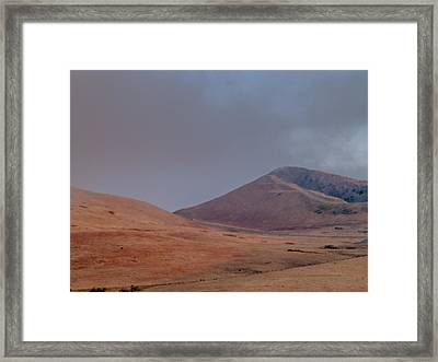 Fog In The Solano Hills Framed Print by Bill Gallagher