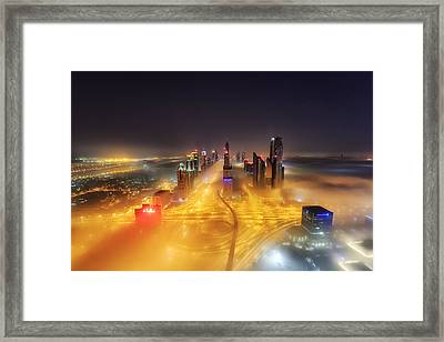 Fog Invasion Framed Print by Mohammad Rustam