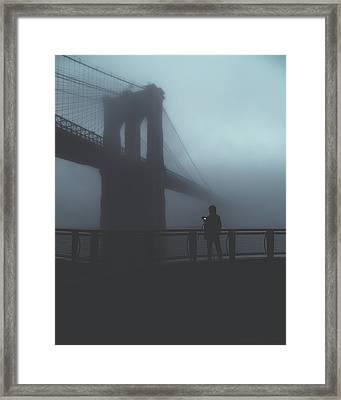 Fog Life  Framed Print by Anthony Fields